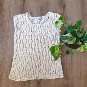 Reitman's | bohemian knit sleeveless top